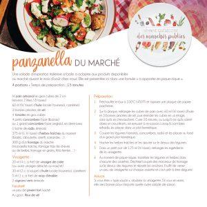 Fiche recette | Panzanella