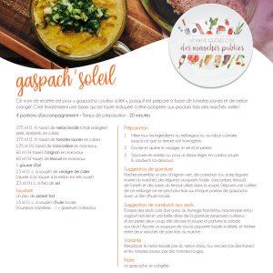 Fiche recette | Gaspacho