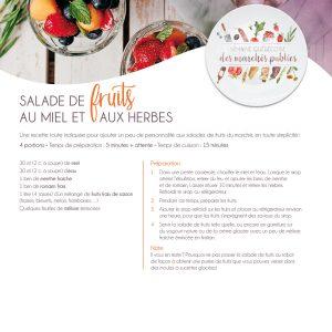 Fiche recette | Salade de fruits